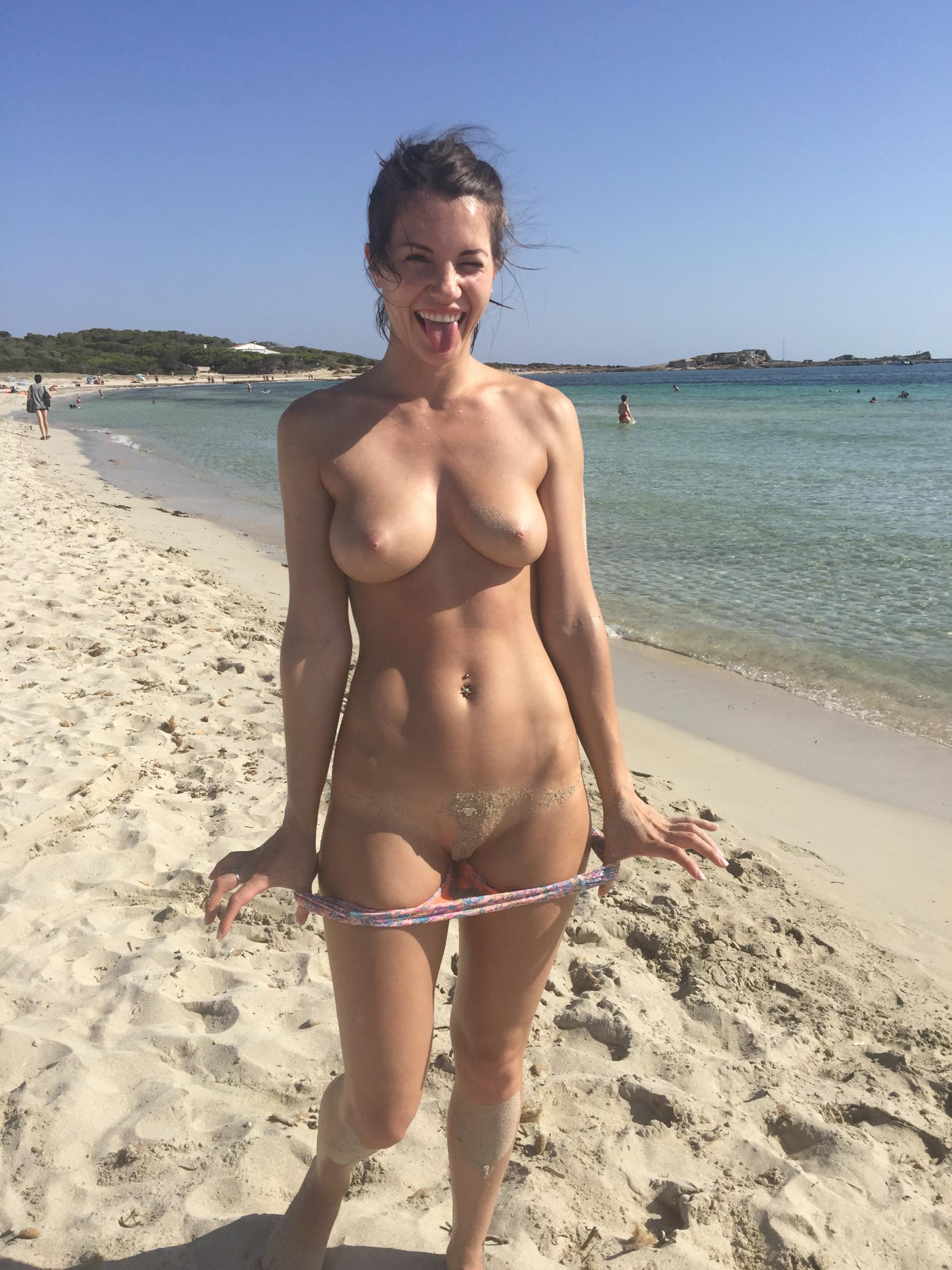 from Joaquin busty mom on nude beach