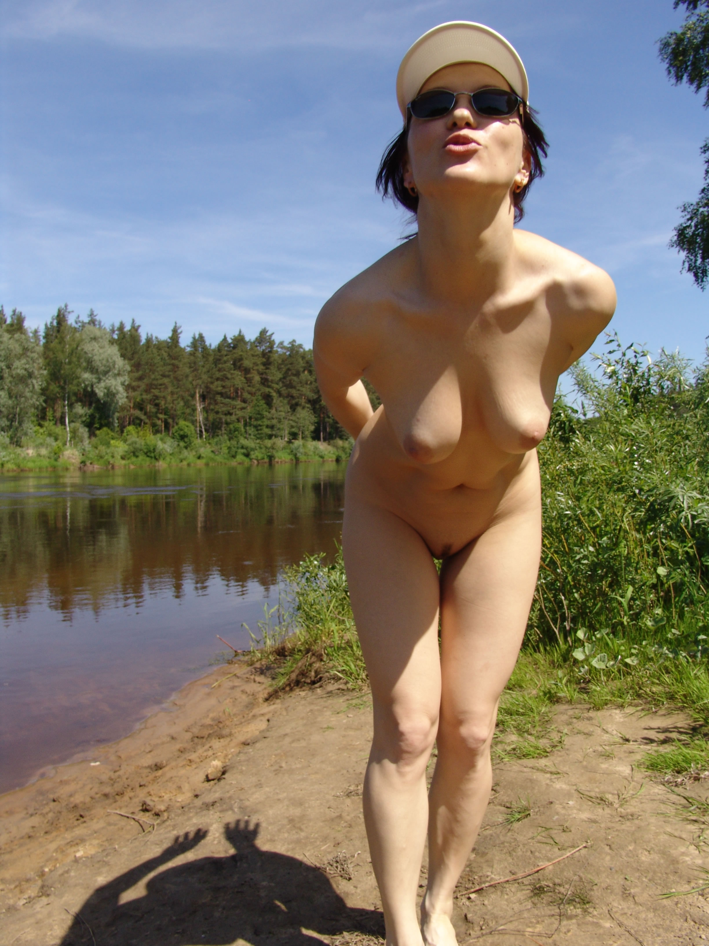 Congratulate, this mature wife nude outdoors will